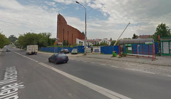 GoogleMaps Przystanek Lublin Rondo Krwiodawców 05