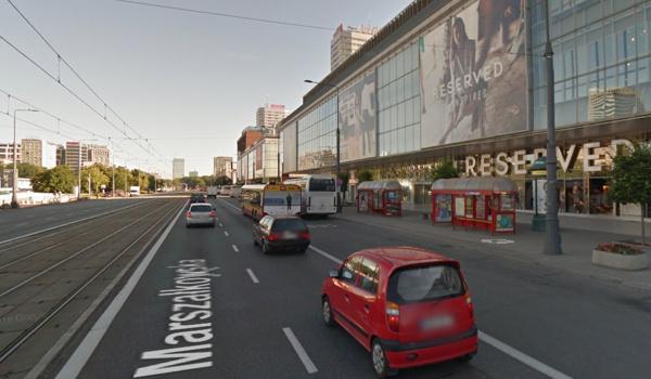 GoogleMaps Przystanek Warszawa Marszałkowska Reserved
