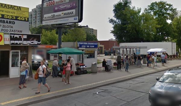GoogleMaps Przystanek Warszawa Plac Szembeka 02