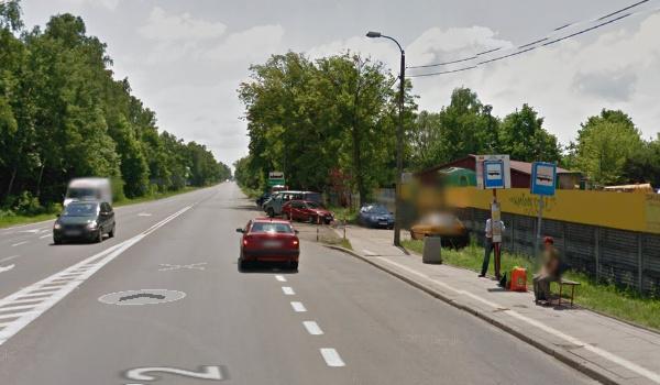 GoogleMaps Przystanek Warszawa Szosa Lubelska 02