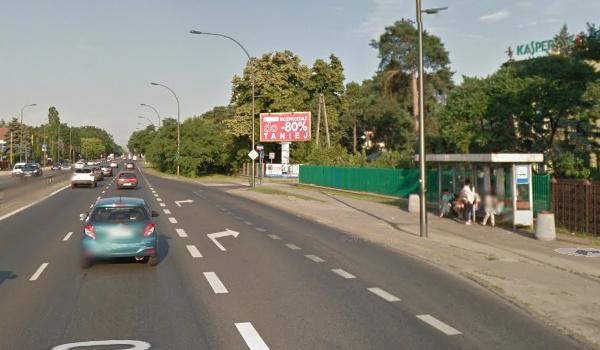 GoogleMaps Przystanek Warszawa Trawiasta 02