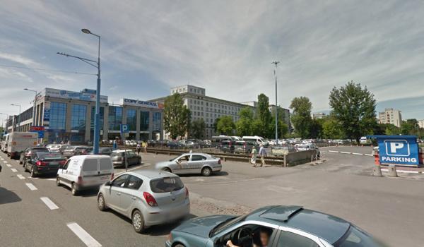 GoogleMaps Przystanek Warszawa Uniwersum
